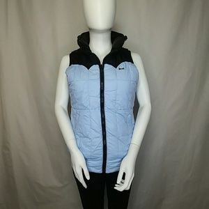 Classic Le Tigre Retro Puffy Down Reversible Vest